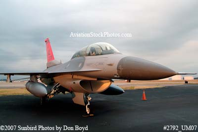 2007 - Alabama Air National Guard F-16D Block30H #AF87-0379 City of Tuskegee military aviation stock photo #2792