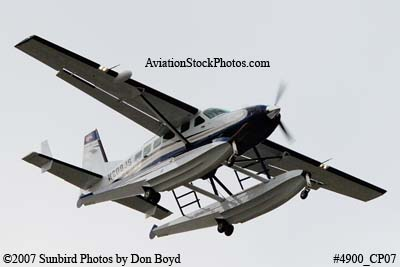 Turnberry Helicopter II LLC Cessna C-208 N208JS corporate aviation stock photo #4900