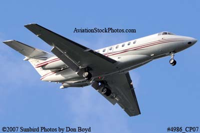 BAE 125-1000A Hawker 1000 N523LR corporate aviation stock photo #4986