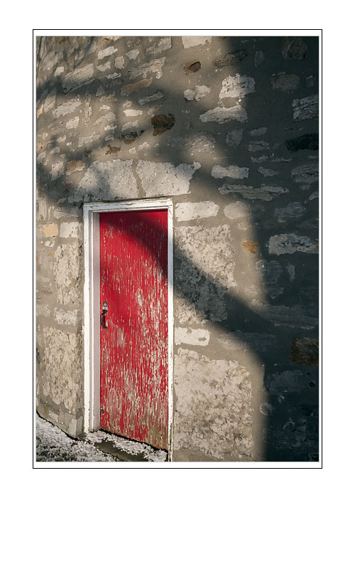 Red Door - Pointe Claire Windmill