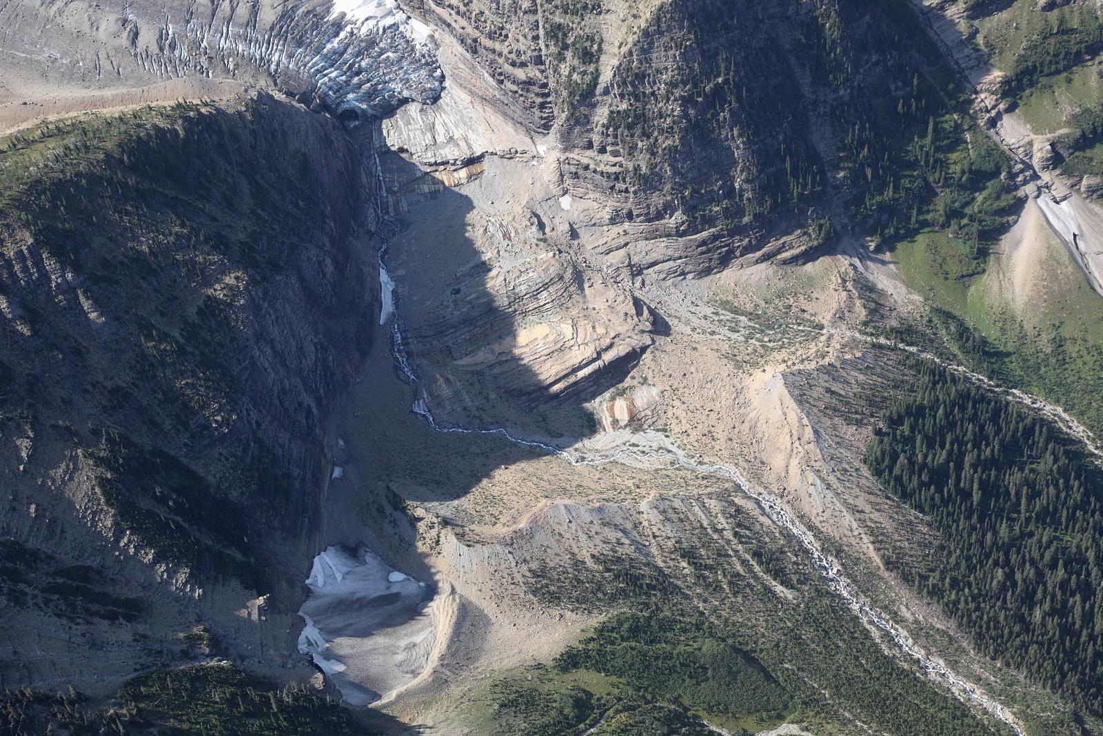 Weasel Collar Glacier, Terminus & Forefield <br> (GlacierNP090109-_553.jpg)
