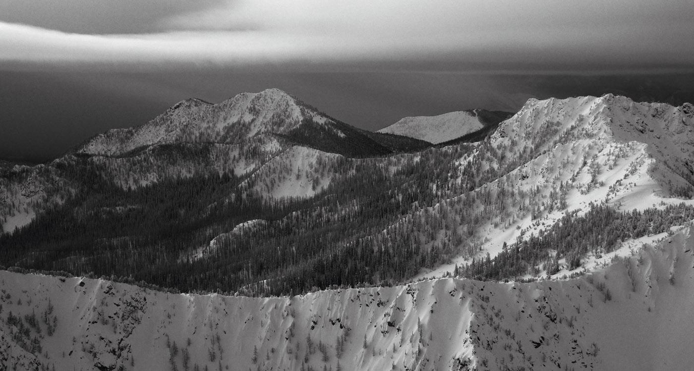 Winter Storm In The Chelan-Sawtooth Wilderness <br> (Chelan-ChelSawt012610-056.jpg)