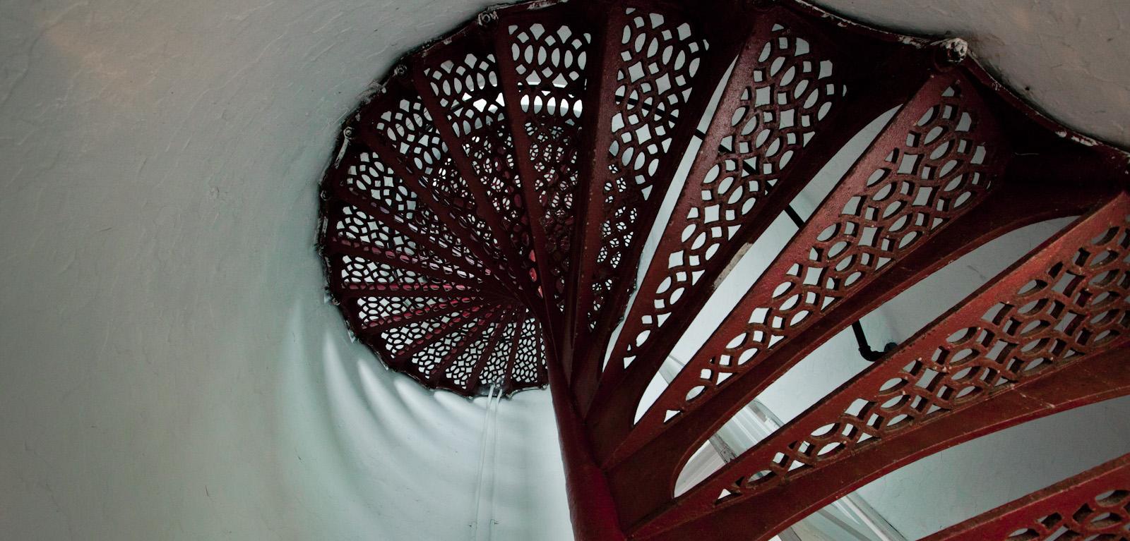 Spiral Staircase, Eagle Harbor Lighthouse<br>(Keweenaw_101312_049-2.jpg)