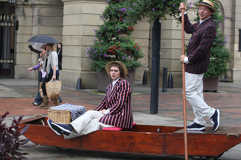 Punting Through Derby