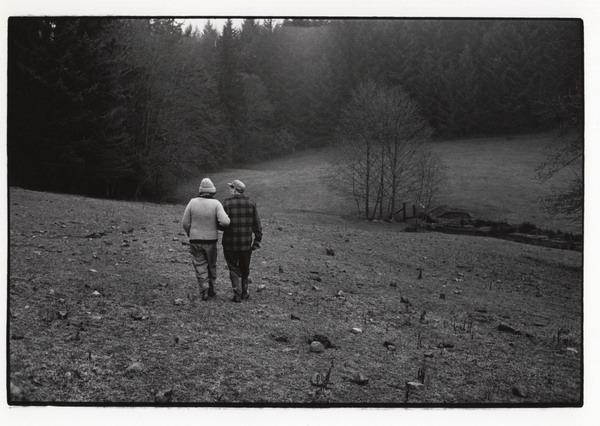 eileen and ernie walking in back pasture.jpg