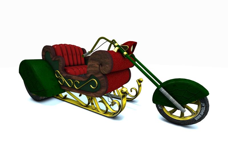 Santas Trike