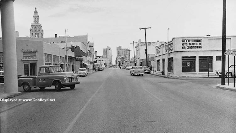 1950s - Kals Automotive on the southwest corner of NE 2nd Avenue and  9th Street, Miami