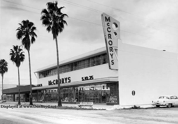 1955 - McCrorys 5-10-25 on Hialeah Drive