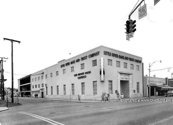 1958 - the Little River Bank and Trust on NE 2nd Avenue, Little River