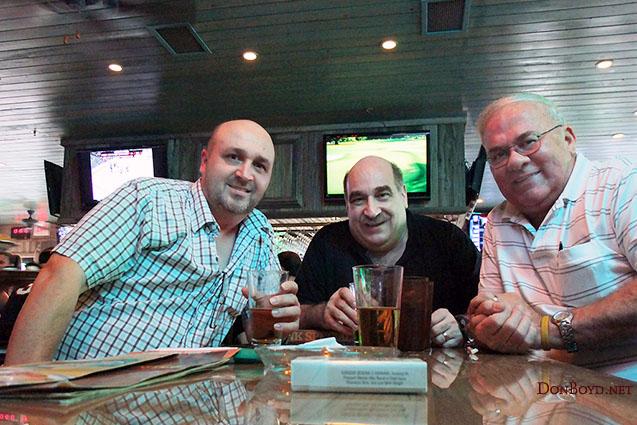 April 2011 - Kev Cook, Don Mamula and Don Boyd at the new Miami Lakes Ale House