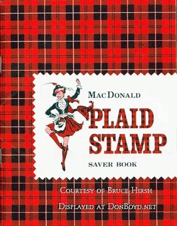 Plaid Stamps AKA MacDonald Plaid Stamps