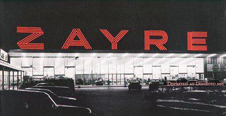 1960s to 1980s - Zayre Department Store