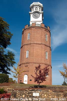 2007 - the clock tower in Bailey Park, Rome, Georgia