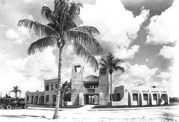 Late 1930s - administrative building for the Curtiss-Bright Company, a major Hialeah developer
