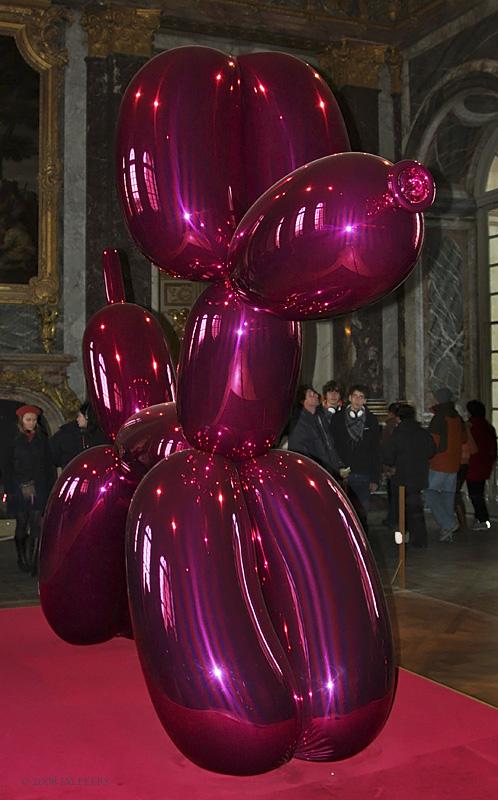 JEFF KOONS<br> Balloon Dog (magenta)