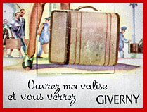 Unique postcards from Giverny