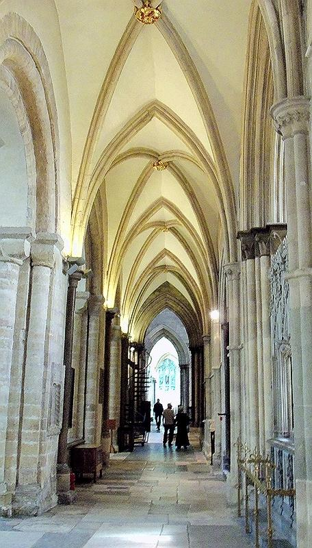 THE CATHEDRALS SOUTH AISLE