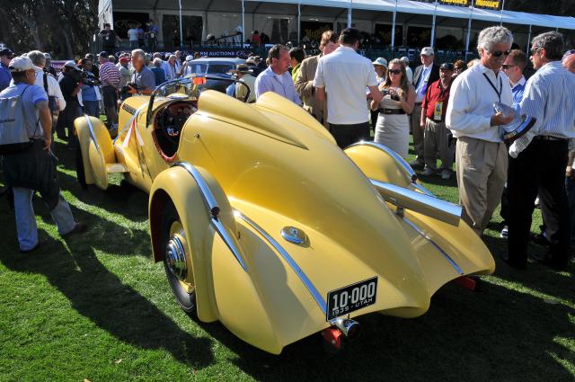 1935 Duesenberg SJ Speedster, owned by Harry Yeaggy, Cincinnati, OH (ST)