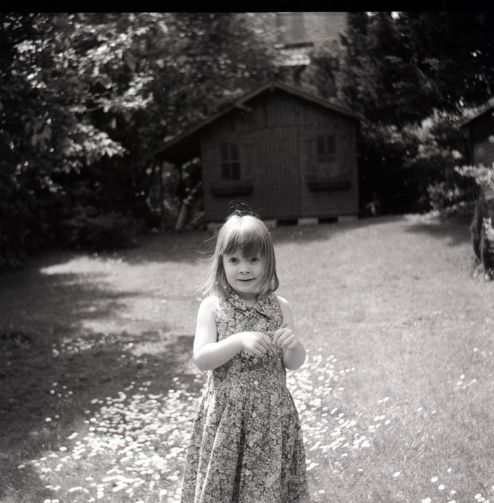 Alison in the Garden