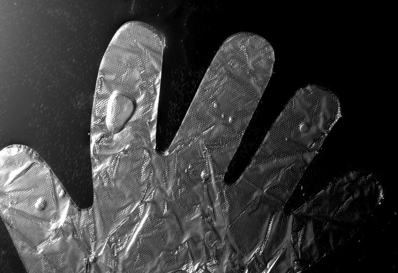 Plastic glove