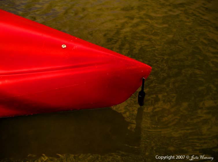 Kayak On The Harpeth River