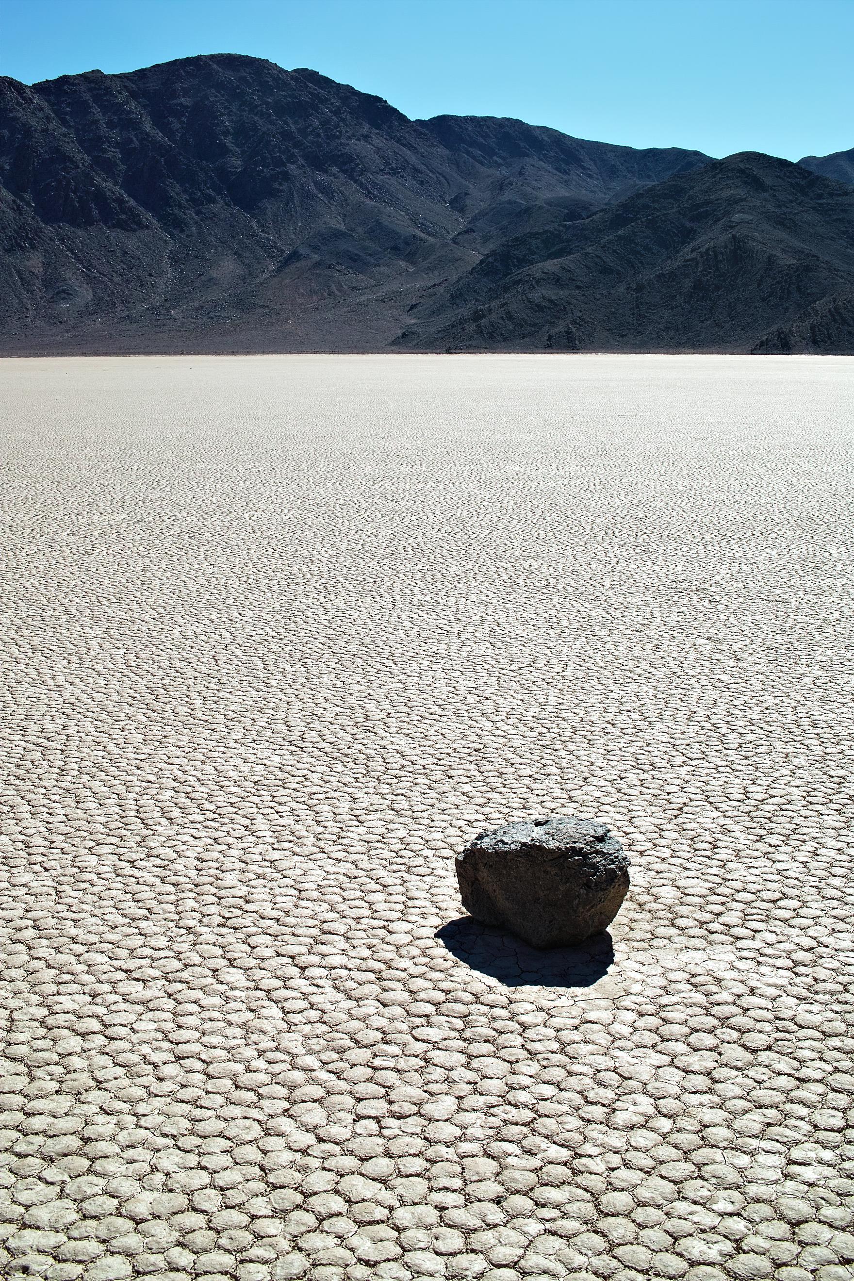 Meditating rock