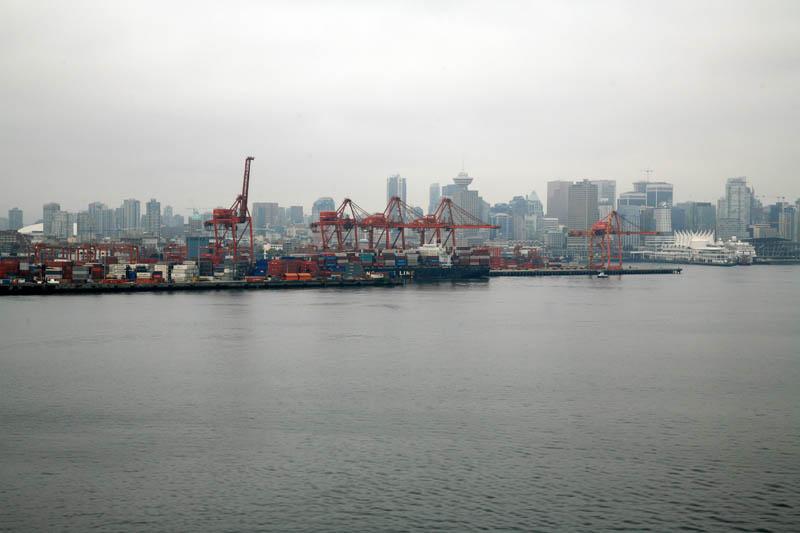 Docks and City