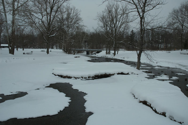 BEFORE:  Melting Snow