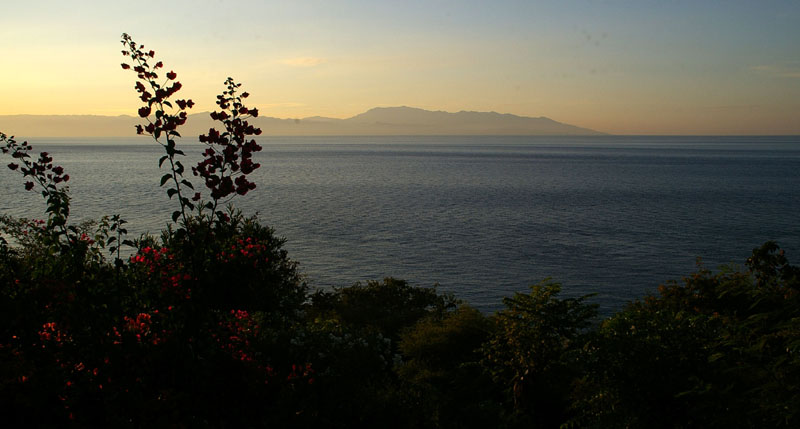 view from nunnery to Alor