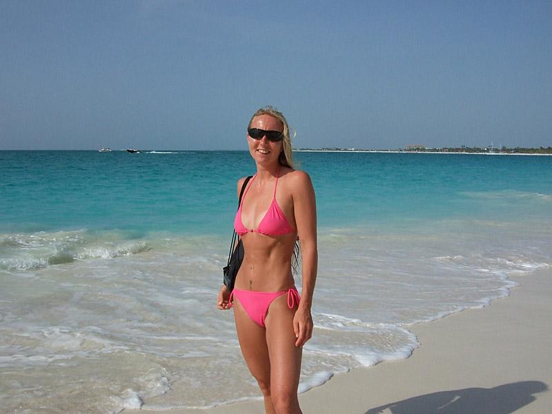 Me on Grace Bay Beach