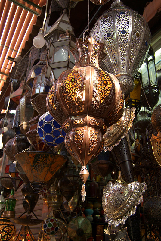 Intricate Lamps
