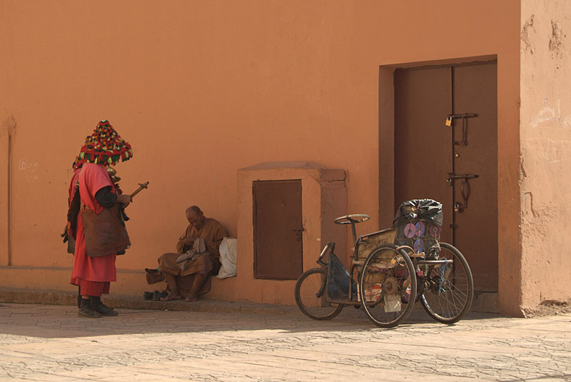 Water Sellers at Koutoubia
