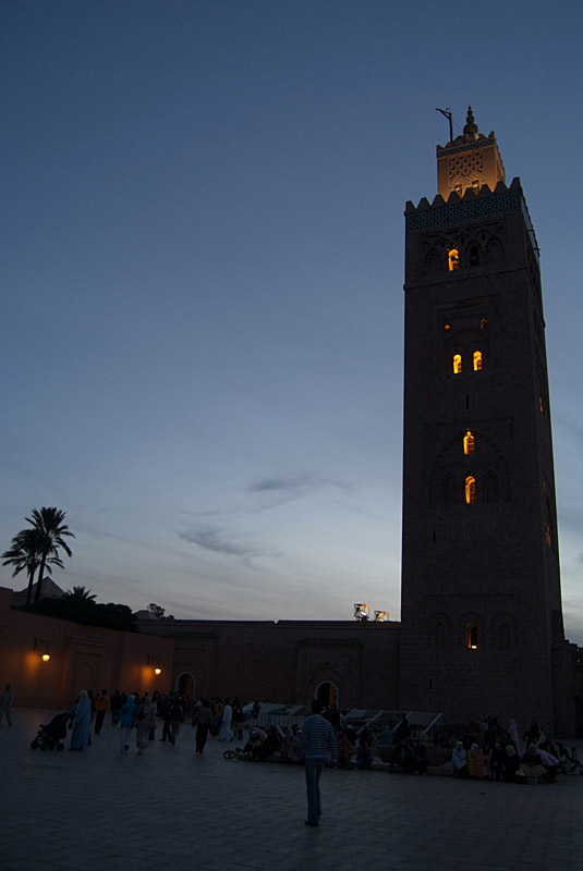 Early Evening at the Koutoubia Mosque