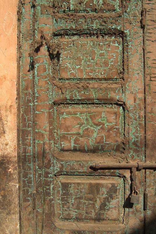 Dirty Green Door