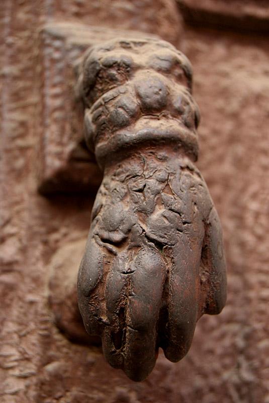 Fatimas Hand Door Knocker