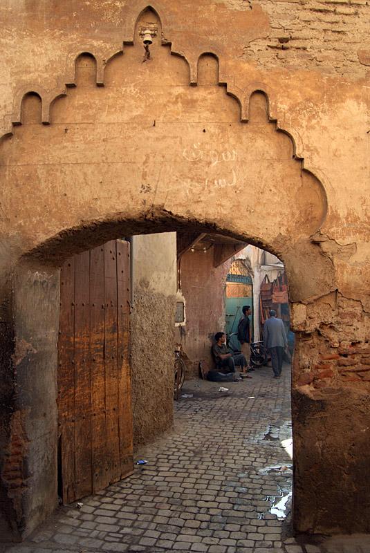 Doorway to the Street