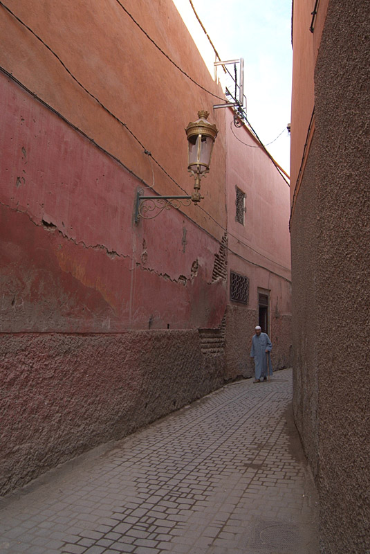 Narrowing Street