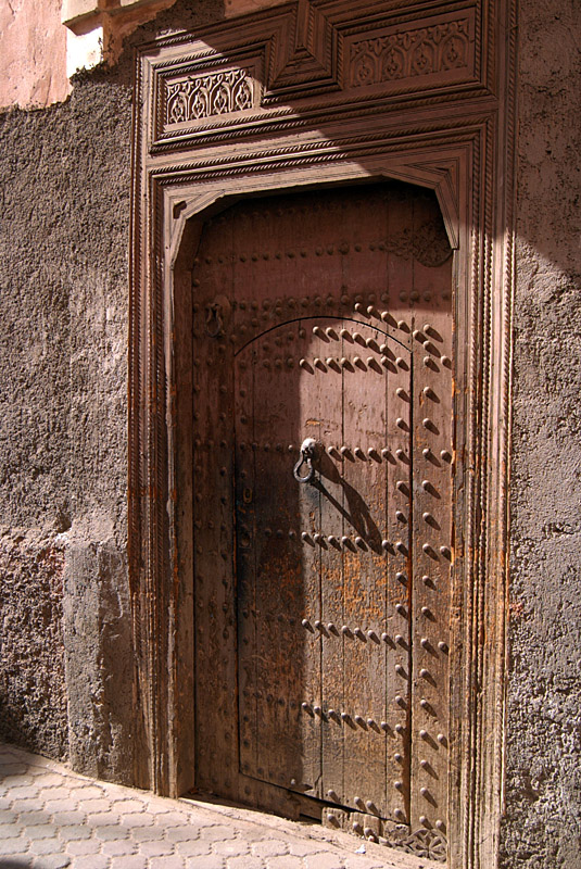 Sturdy Wooden Door