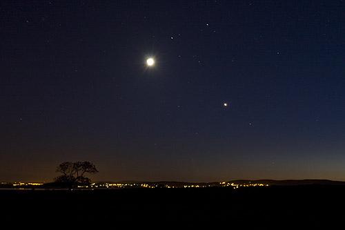 Moonlit Grange Over Sands