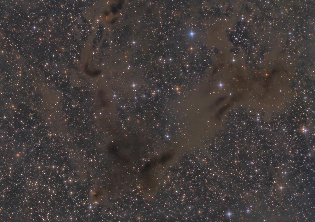 LBN 468 and Gyulbudaghians Nebula (PV Cephei = HH 215)