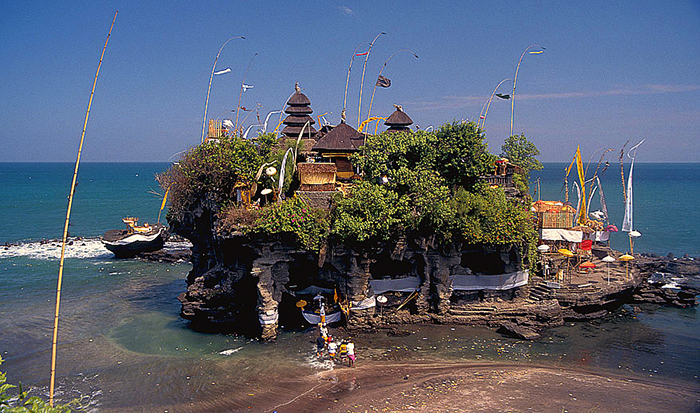 Tanah Lot: first visit in 1996