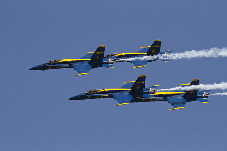 Quartet in formation.jpg