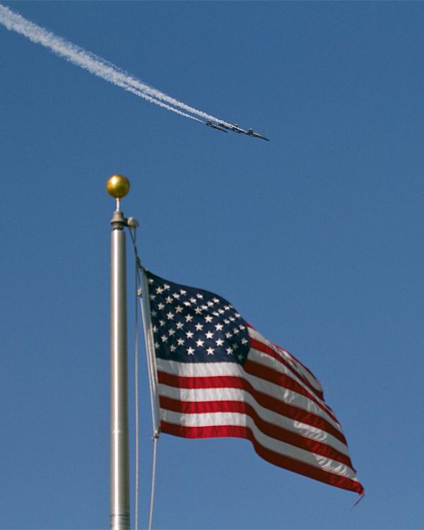 Blue Angels Flying Past the American Flag.jpg
