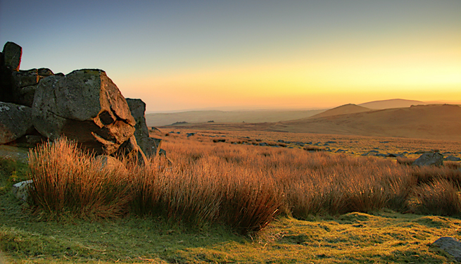 Dawn In The Preseli Hills