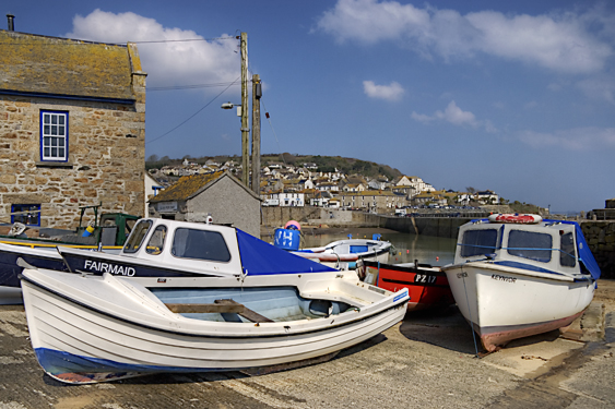 Boats In Mousehole