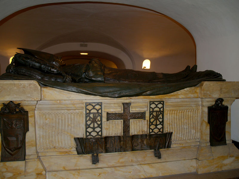 Resting Place For Pope