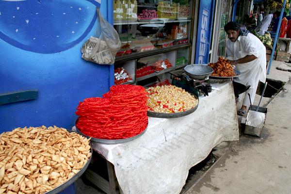 Sweet vendor