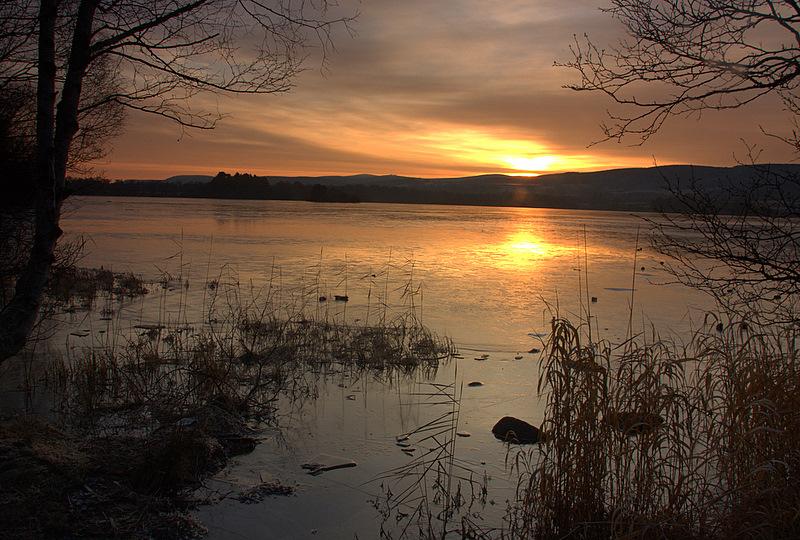 Loch Kinord  - late sunrise
