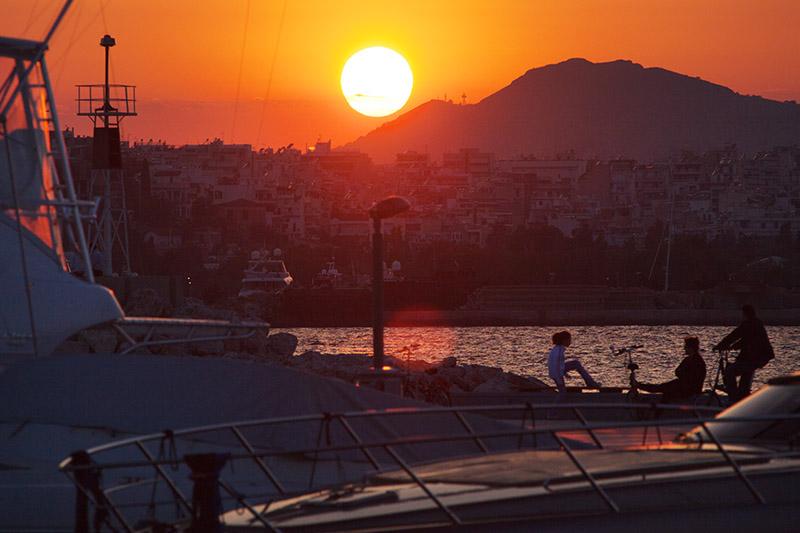 Piraeus Sunset