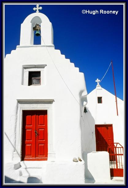 GREECE - MYKONOS - ANOTHER SMALL CHURCH